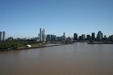 Hafeneinfahrt Buenos Aires
