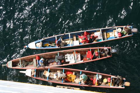 Fischer vor Dakar