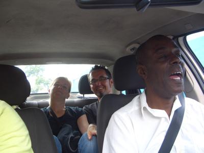 Taxifahren mit Heavymetal