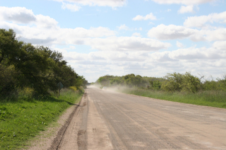 Ruta 11 bei Punta Piedras