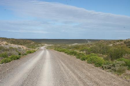 Einsame Küstenstrasse