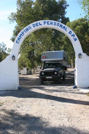 Camping in Las Grutas