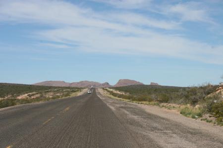 Autobahn von Argentinien (jedoch nur eine Spur)