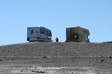 Campsite in Punta Flecha