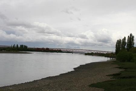 Brücke über den Rio Chico