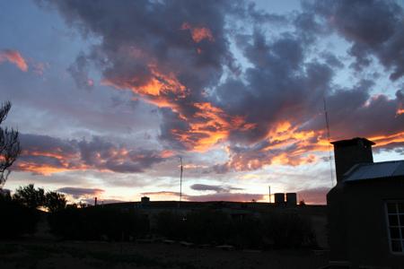 Sonnenuntergang La Paloma